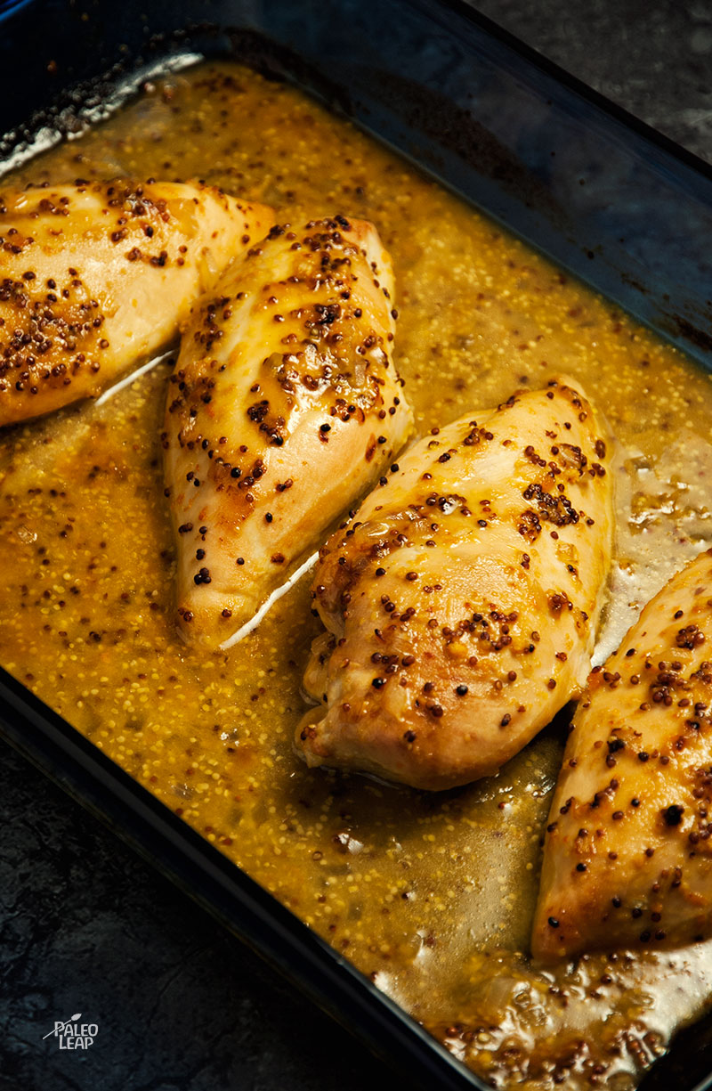 Orange-Honey-Mustard Baked Chicken Breasts Recipe — Dishmaps