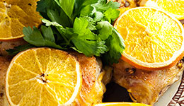 Orange-Spiced Chicken
