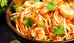 Crunchy Papaya Salad With Shrimp