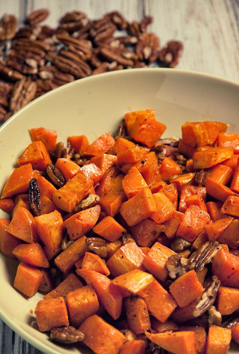Pecan and Sweet Potato Side