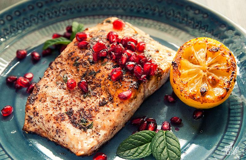Pomegranate Salmon