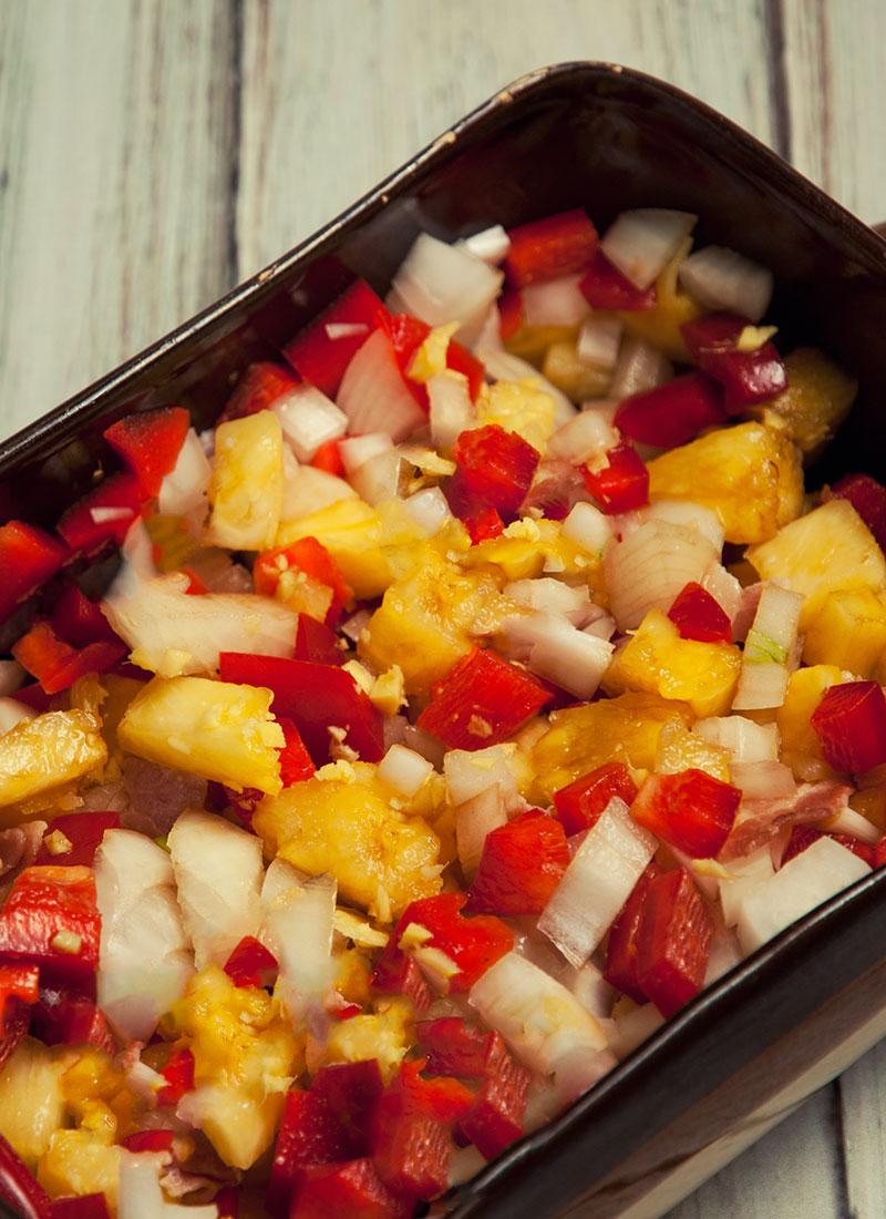 Stir-Fry preparation