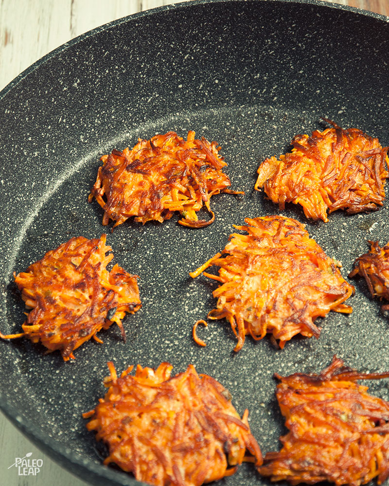 Sweet Potato Rosti With Smoked Salmon | Paleo Leap