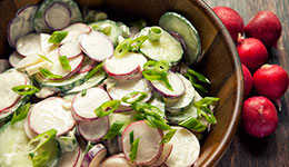 Radish and Cucumber Salad