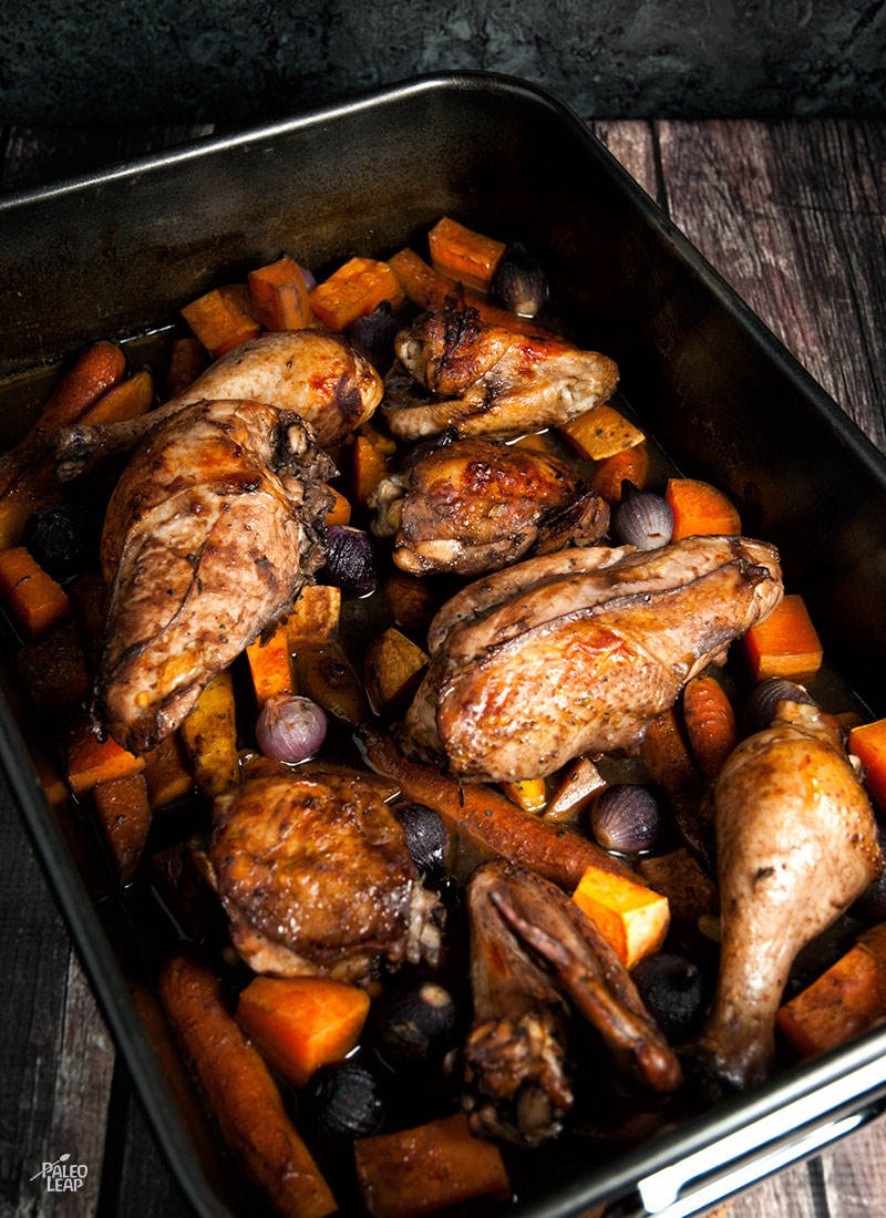 Red Wine Roast Chicken Paleo Leap
