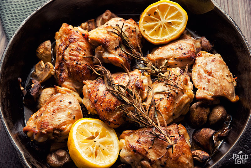 Skillet Rosemary Chicken Paleo Leap