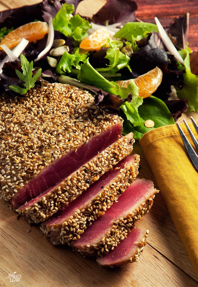 spiced seared rare tuna moroccan spiced seared rare tuna vegetables ...
