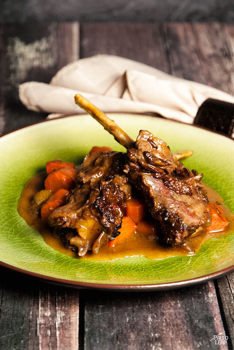 Red Wine Braised Short Ribs | Paleo Leap