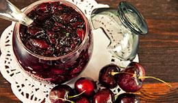 Skillet Cherry Jam