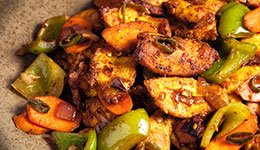 Spicy Indian Chicken Stir-Fry