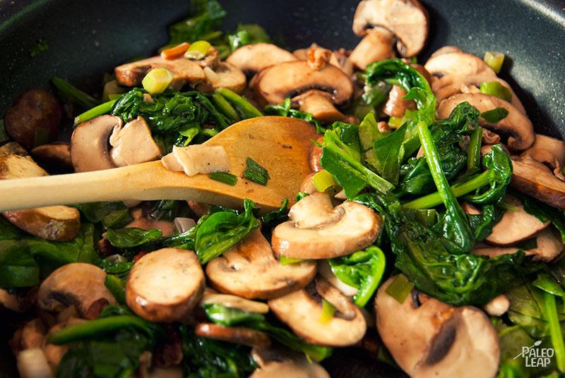 Spinach and mushroom chicken paleo leap chicken preparation forumfinder Image collections