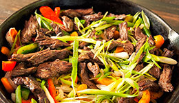 Steak Skillet With Bell Peppers