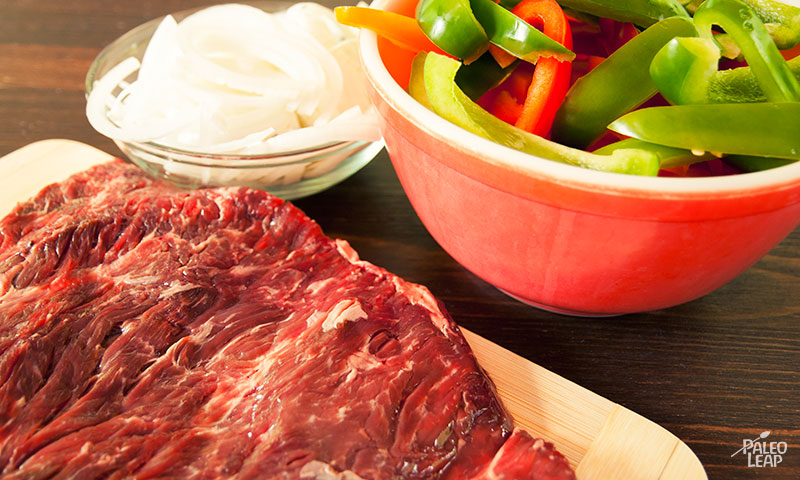 Steak skillet preparation
