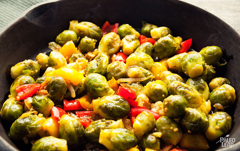 Asian Stir-Fried Brussels Sprout