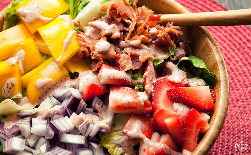 Strawberry Poppyseed Salad