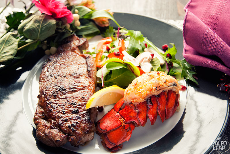 Surf And Turf Dinner Paleo Leap