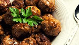 Swedish Style Meatballs