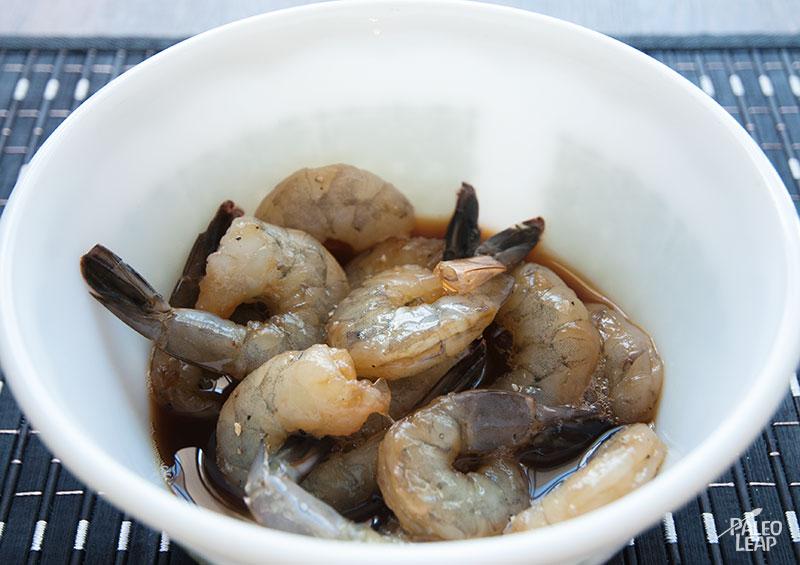 Shrimp preparation