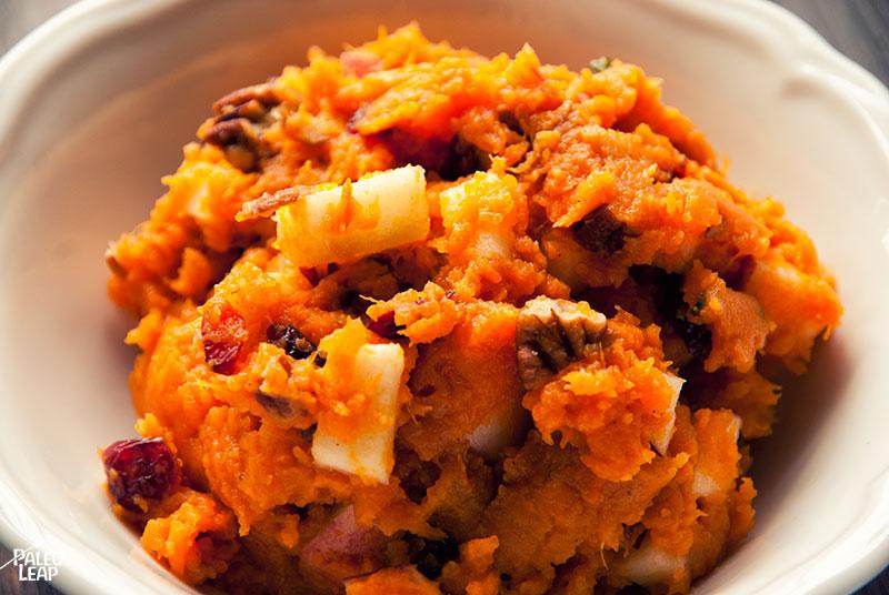 Sweet potato preparation