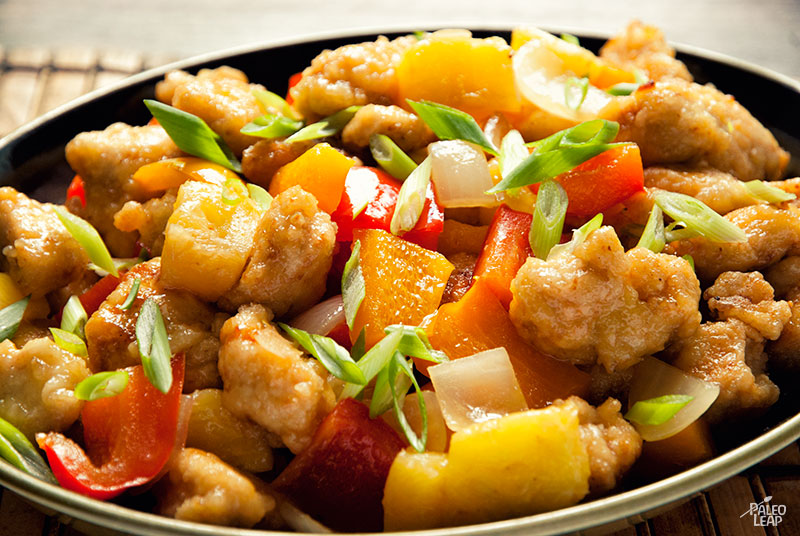 Sweet and Sour Chicken | Paleo Leap