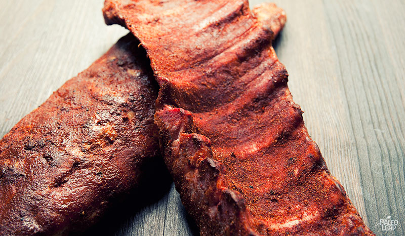 Texas Pork Ribs preparation