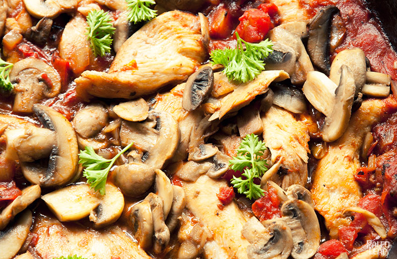 Tuscan Chicken preparation
