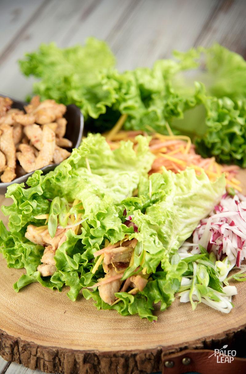 Vietnamese Pork Spring Rolls | Paleo Leap