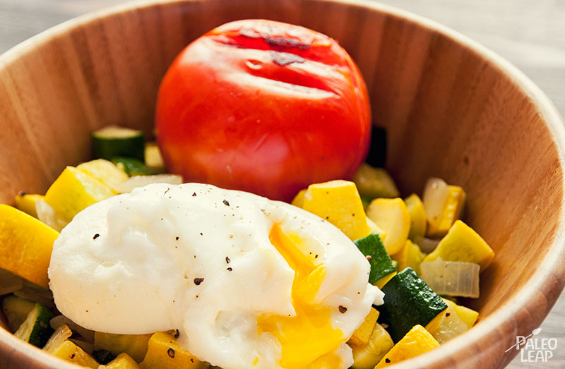 Zucchini and Egg Breakfast