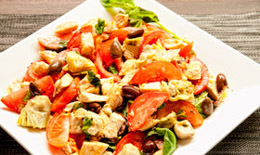 Chicken And Artichoke Panzanella