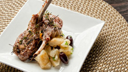 Lemon And Thyme Lamb Cutlets