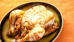 Moroccan-Style Roast Chicken