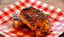 Pork Chops in Sweet Sauce