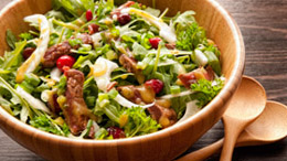 Steak Salad With Cranberries