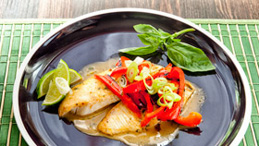 Tilapia With Thai Curry