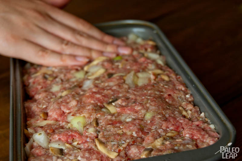 Meat loaf preparation