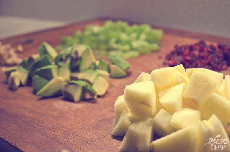 Chicken salad preparation