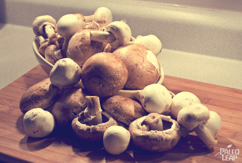 Freezer-Ready Sauteed Mushrooms