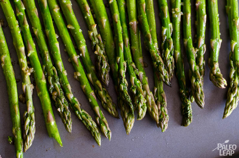 Asparagus preparation