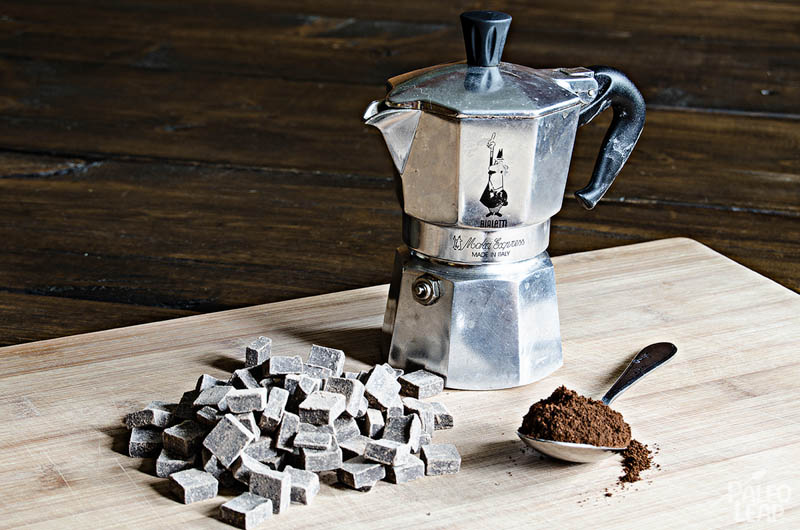 Chocolate mousse preparation