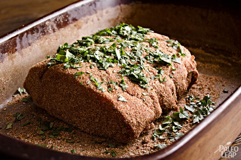 Pork roast preparation