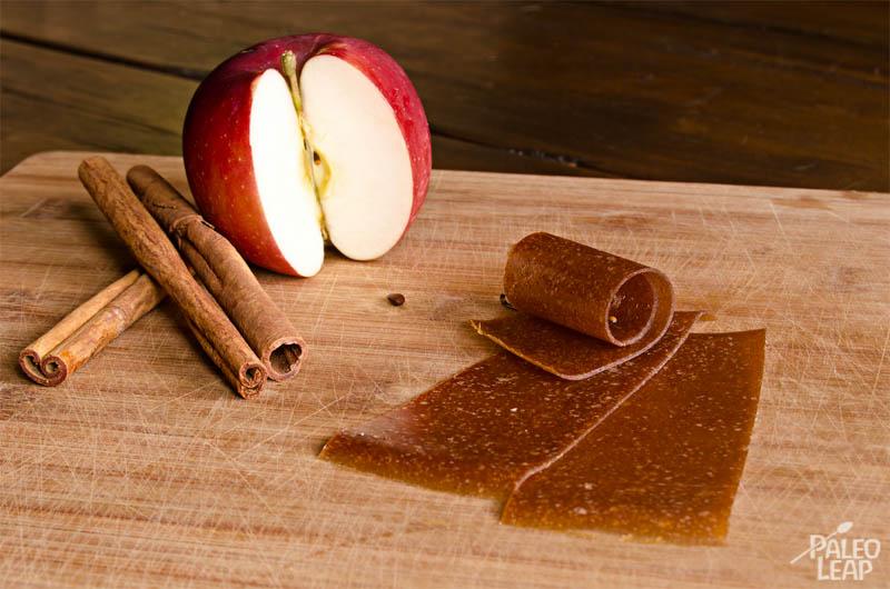 Apple Cinnamon Fruit Rolls