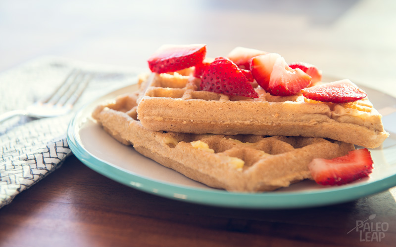 Cinnamon and Apple Waffles
