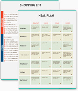 Paleo Weekly Planner