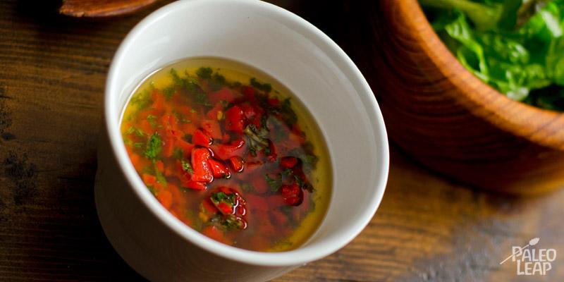 Roasted chilli dressing