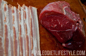 how to cook bacon wrapped sirloin medallions in oven