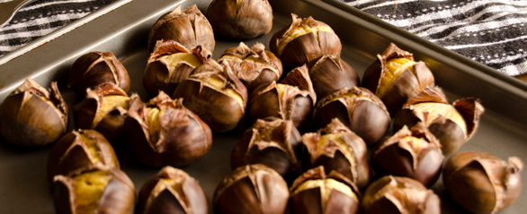 Chestnuts, a great source of starch