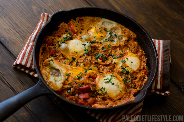 Eggs in Tomato Sauce-Shakshuka | Healthy Natural