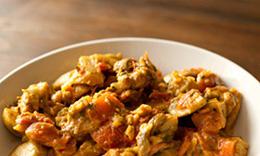 Eggplant mushroom curry