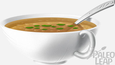 Broth soup