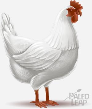Nutrition in pastured chickens